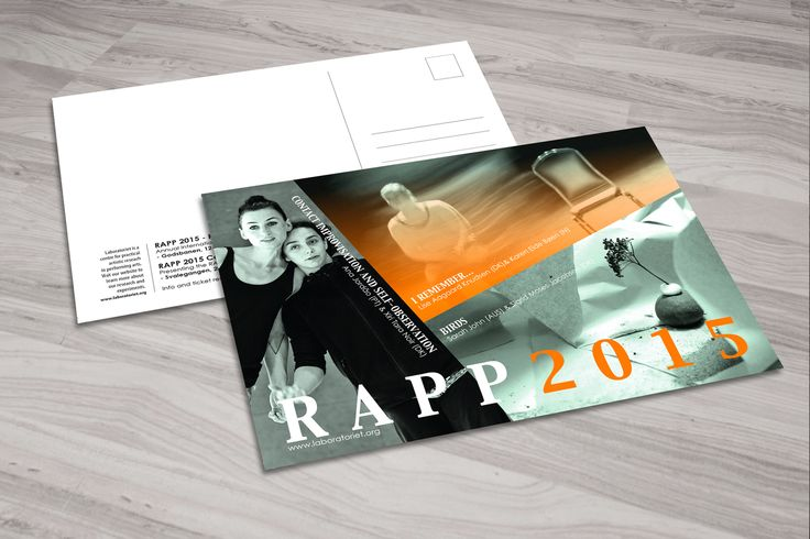 RAPP2015 postkort