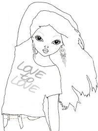 afbeeldingsresultaat voor meisjes tekeningen om in te