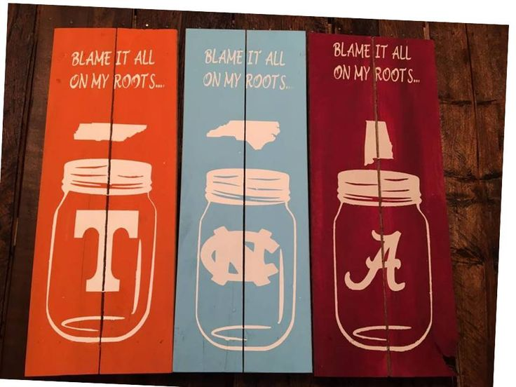 Wooden Sports Signs Available in all schools and colors. Specializing in the new southern color scheme. Makes a great Christmas gift for your favorite sports lover. 13.00 plus shipping.