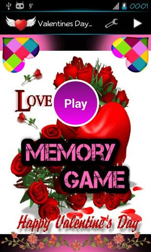 Happy Valentine's Day, festival of love<p>Day when many people give present, cards or flowers to their partners<p>This game is our gift to you<p>Fun and relaxing memory game with 5 game modes<p>Enjoy and let every day be Valentine's Day<p>Keywords:<br>kids games, fun games, cool games, dirt bike games, coolmath games, games for kids, scary games, word games, most fun games, educational games, hidden object games, free kids games, doraemon games, primary games, maze game, boy games, free…