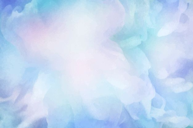 Download Vibrant Blue Watercolor Painting Background For Free In