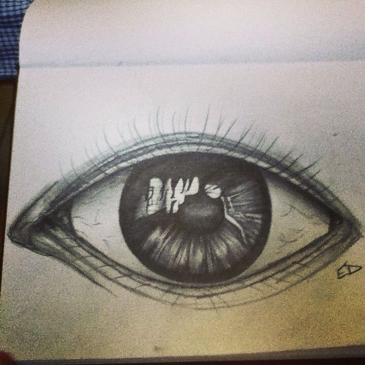 An eye drawing!
