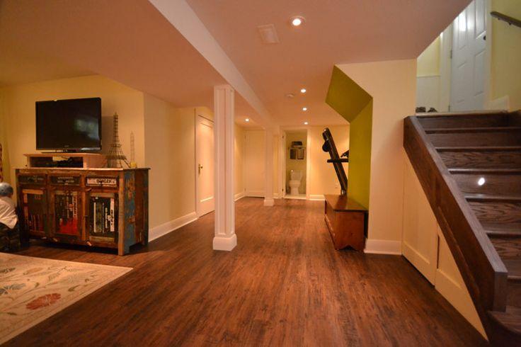 London Ontario basement renovation.
