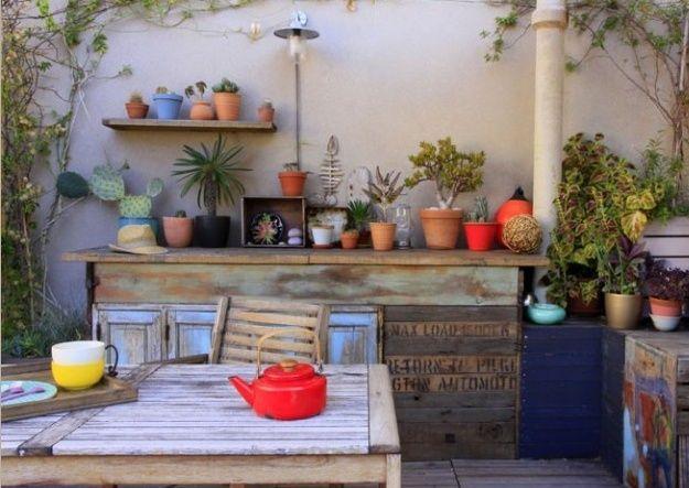 Lounge im Freien – aubenkuche.diyhomedesigner.com