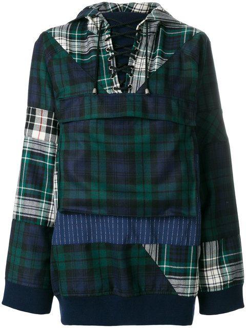 PUMA tartan pull-over jacket. #puma #cloth #