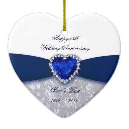 45 Wedding Anniversary Gift Ideas: 11 Best 45th Anniversary Party Ideas! Images On Pinterest
