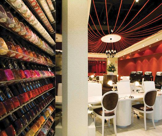 15 Best Cool Nail Salons Images On Pinterest