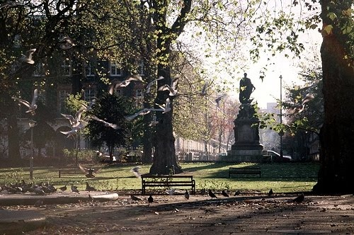 Russell square Bloomsbury