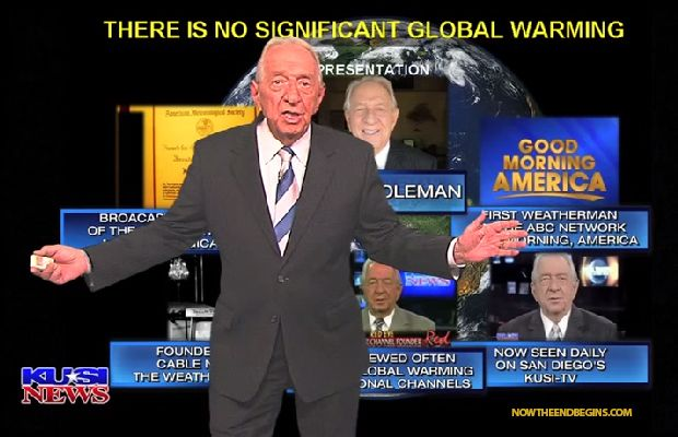 """The Founder of The Weather Channel Explains Why """"CLIMATE CHANGE"""" is a LIE! LIVE on CNN"""