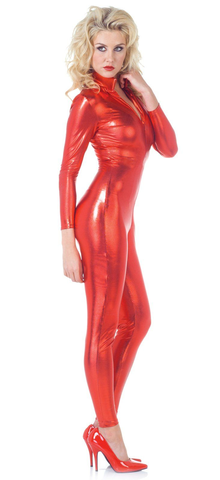 britney spears oops i did it again costume i think i - Britney Spears Red Jumpsuit Halloween Costume