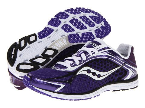 Saucony Grid Type A5 Purple/White - 6pm.com