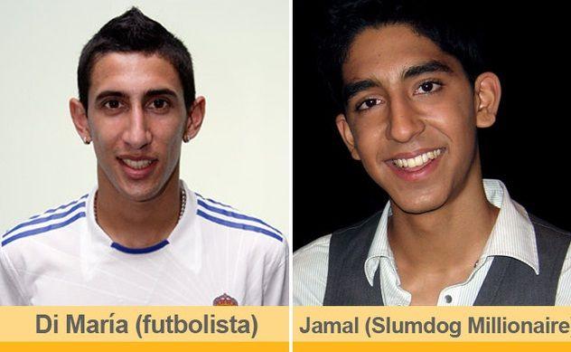 Di María and Jamal (Slumdog Millionaire)