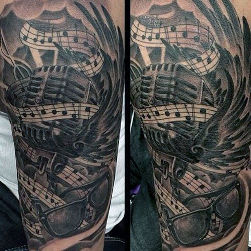 25 best images about music tattoos for men on pinterest more best sheer number tattoos for. Black Bedroom Furniture Sets. Home Design Ideas