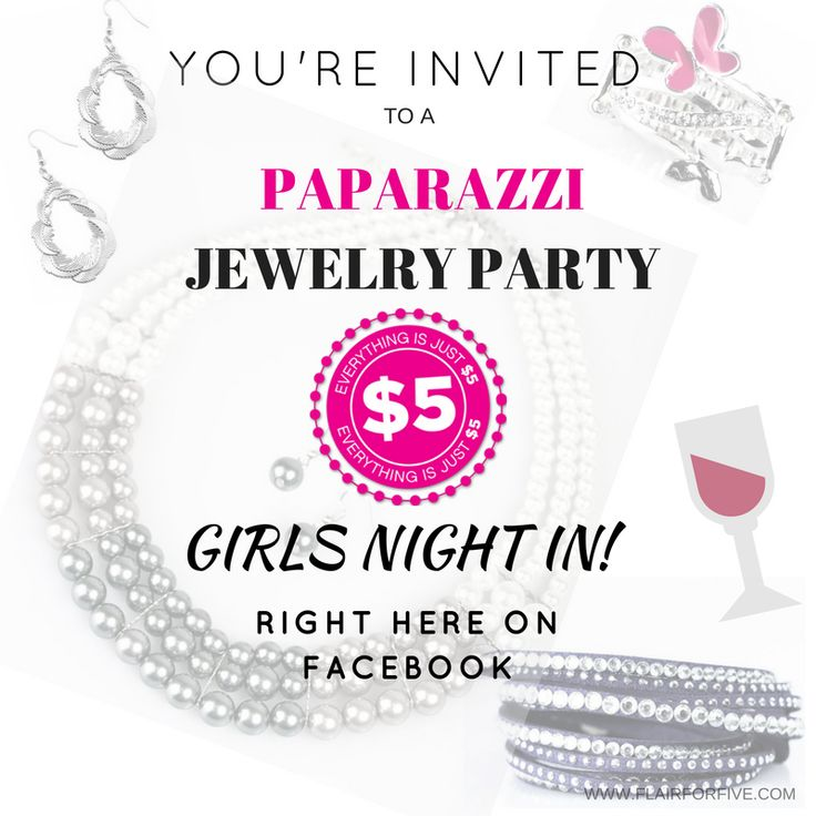 Want To Host A Paparazzi Jewelry Party Msg For Free Jewlery