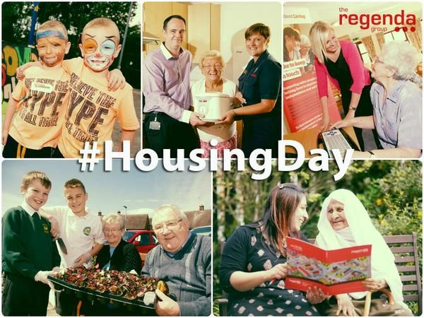 Regenda ‏@TheRegendaGroup: #HousingDay has successfully raised the profile of #ukhousing & the positive work HA's do every day. Thanks @AdeCapon