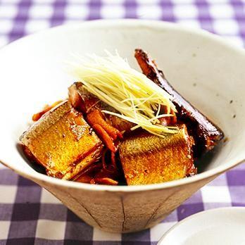 レタスクラブの簡単料理レシピ たっぷりのしょうがが風味よい「さんまの甘辛煮」のレシピです。