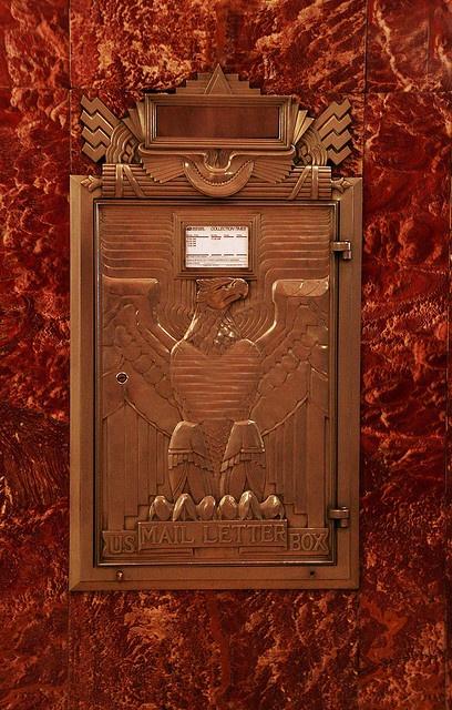 Chrysler Building mailbox