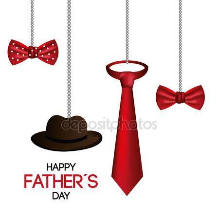Pobieraj - Ojcowie szczęśliwy dzień karta projekt — Ilustracja stockowa #73252231