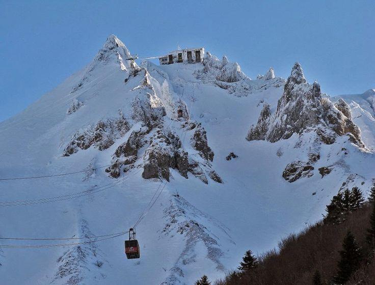 Chab'Reportage photos de Claude Geourjon : La station du Mont Dore...