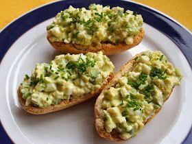 Jana´s food: Pomazánka z vajec a avokáda