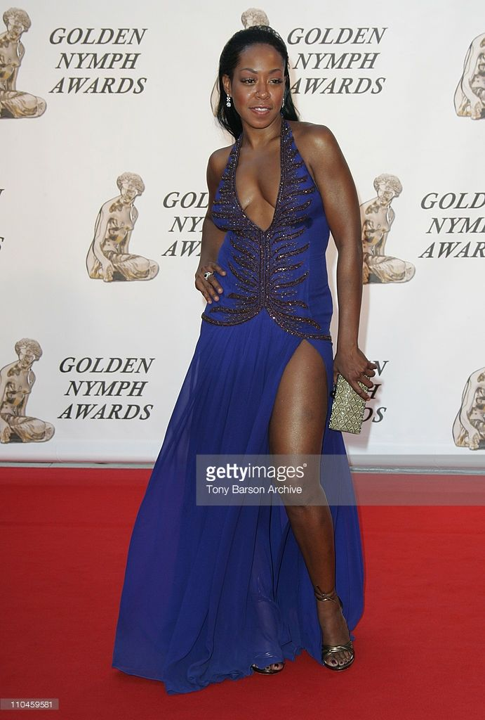 Tichina Arnold during 46th Monte Carlo Television Festival - Closing Ceremony - Arrivals at Grimaldi in Monte Carlo, Monaco.