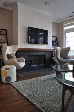 Modern Home Tv Above Fireplace Design, Pictures, Remodel, Decor and Ideas - page 4