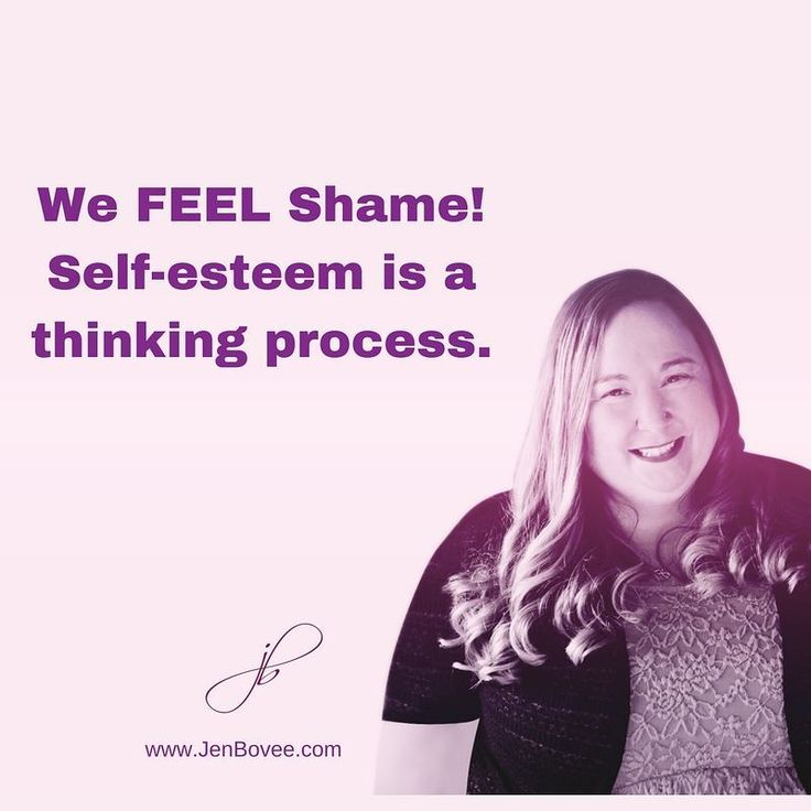 For countless years, I worked deligently alongside people who had low self-esteem. No matter what intervention I put in place, it didn't make a lasting change. Now, when people come to me with low self-esteem we address the core Shame issues. As a result, their thinking process changes and their self esteem raises.