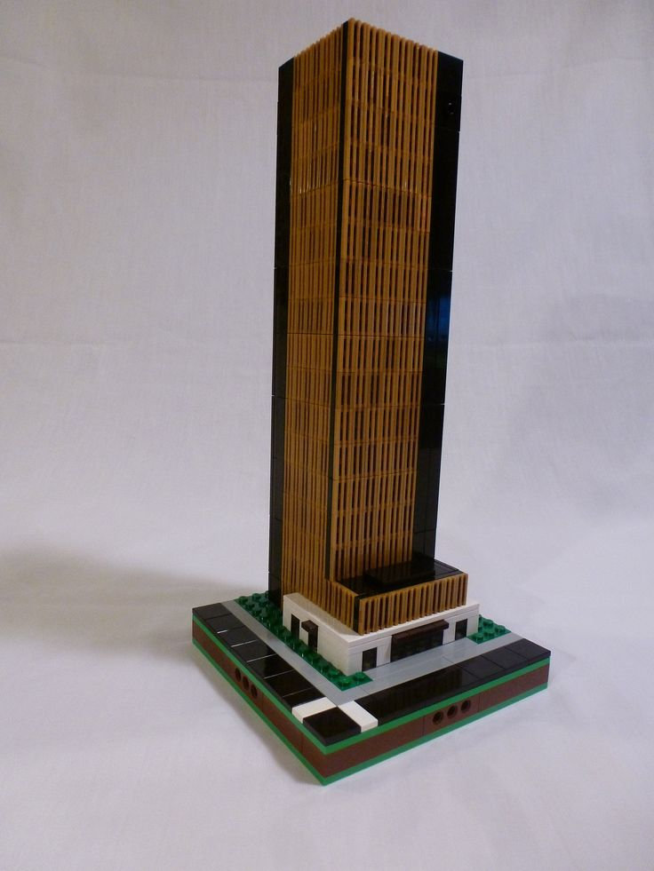 lego office building. Scott Stasiuk Continues To Build Impressive Regina (Canada) Landmarks. His Current Model Is The SGI (C. Fines) Building, A Twenty Story Office Building In Lego
