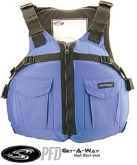 Stohlquist Women's GetAway Hi-Back PFD