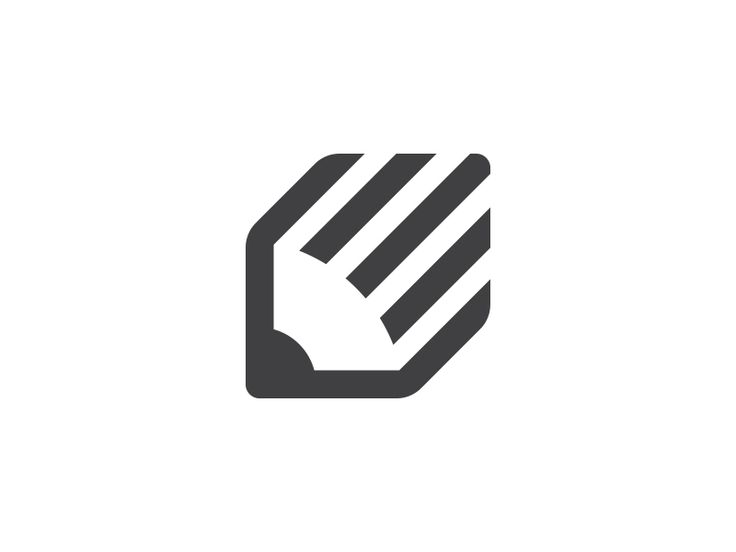 lovely minimal logo that is a good example of a logo that would work well on all formats. in an app style, business card, sticker etc.
