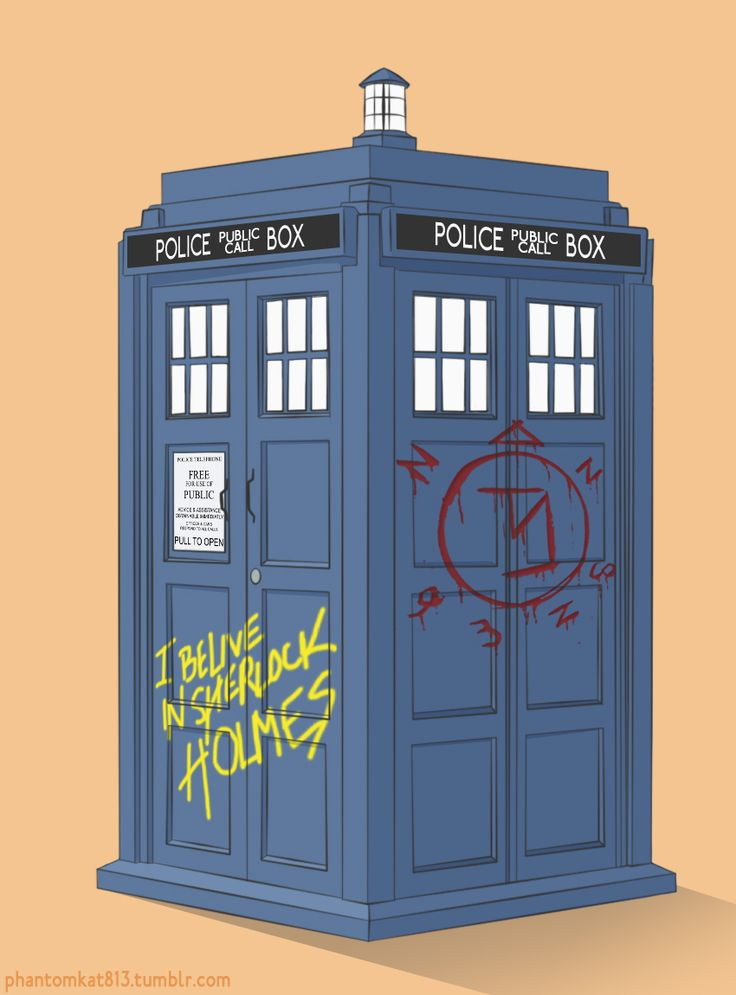 SuperWhoLock (Supernatural + Doctor Who + Sherlock. Good God its all my favoritest things)