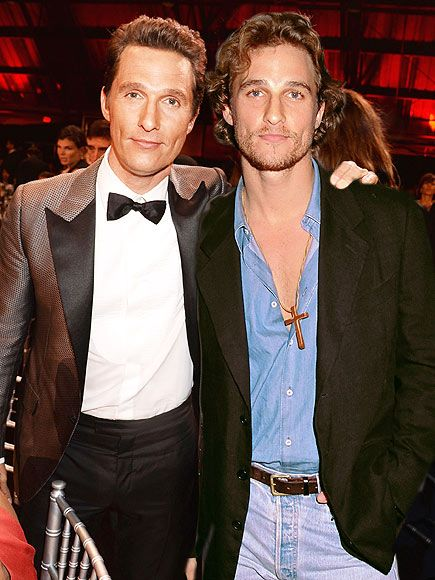 Matthew McConaughey Actor  Oscar Nominees Pose with Younger Versions of Themselves - My Modern Metropolis