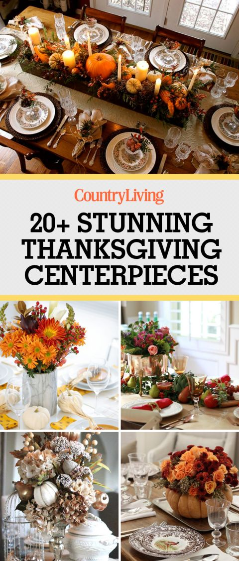 Save these stunning Thanksgiving centerpieces for later! Don't forget tofollow Country Living on Pinterestfor more Thanksgiving ideas.