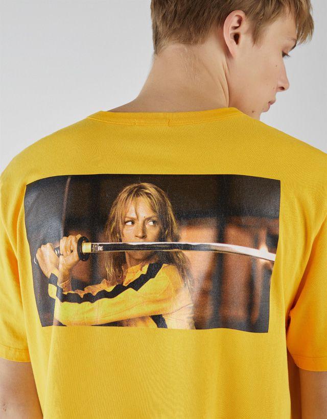 2f2ab504e Kill Bill T-shirt - Bershka #fashion #product #printed #print #estampado  #licencias #brands #collaborations #pop #popculture #movies #music #trend  #trendy ...