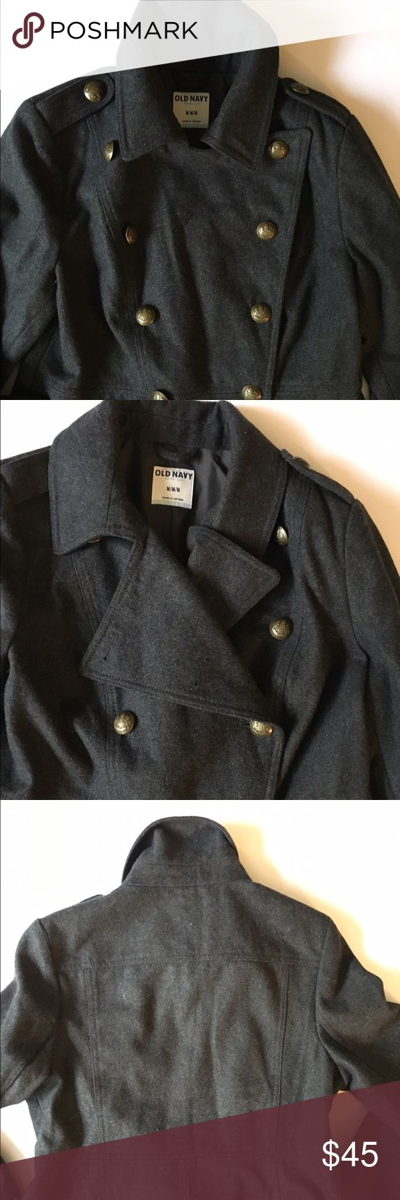 """Old Navy Military Style Coat Condition: Exellent Used Condition  Cosmetic Blemish: None Length from Shoulder to Hem: 34"""" Questions: Ask away! *Other items pictured are available in my shop! Old Navy Jackets & Coats Trench Coats"""