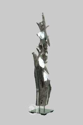 Driftwood LED Floor Lamp