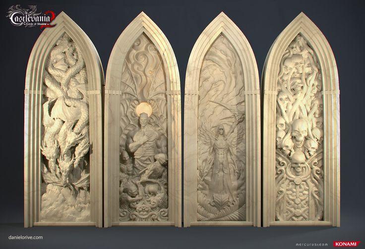 ArtStation - Castlevania Lord of Shadows 2 - Statue, Daniel Orive