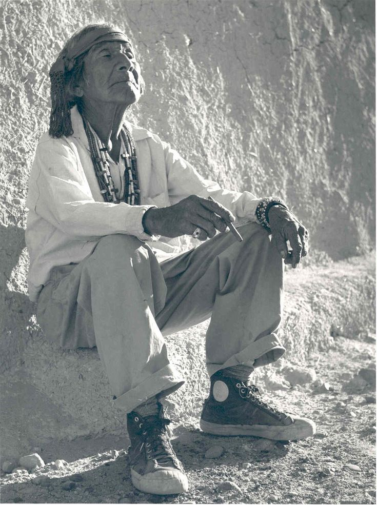 """White Mans Moccasins"" - 1954 - Lee Marmon. One of my favorite photos (Laguna)"