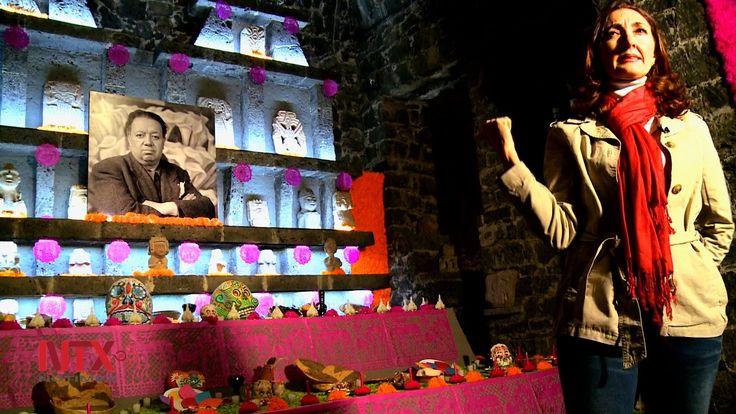 En el Museo Diego Rivera Anahuacalli, cada año montan ofrenda en recuerdo del muralista
