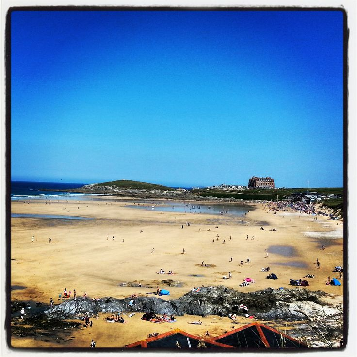 Fistral beach bank holiday weekend #checkinchillout