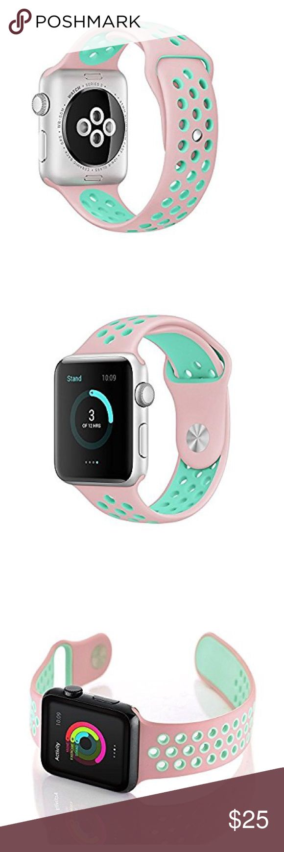 "38mm Nike Style Apple Watch Band Brand new 38mm ""Nike Style""Apple Watch Sports Band (Watch is not included) Great Gift for your friends and Love ones !!! Accessories Watches"