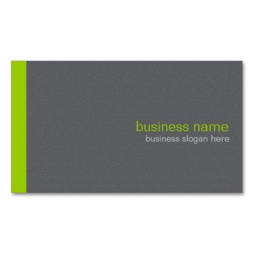 301 best simple elegant business cards images on pinterest plain elegant modern simple green stripe business card accmission Image collections