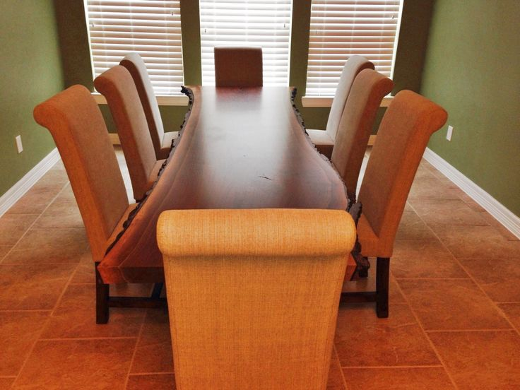 Great These Gallery Furniture Customers Absolutely Love Their Brand New Unique  Dining Room Table. | Houston