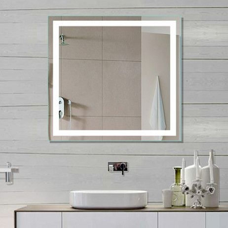 TYPE: Illuminated Mirror SHAPE: Rectangle SIZE: 32 x 32 x 2 DESCRIPTION Available 15 th January Pre order now - 5040 Lumens CRI90+ - 110 V wiring - Approx 120,000 Hours Lifetime - Complete UL and cUL