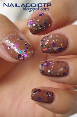 Nail Addict: Earthy Party