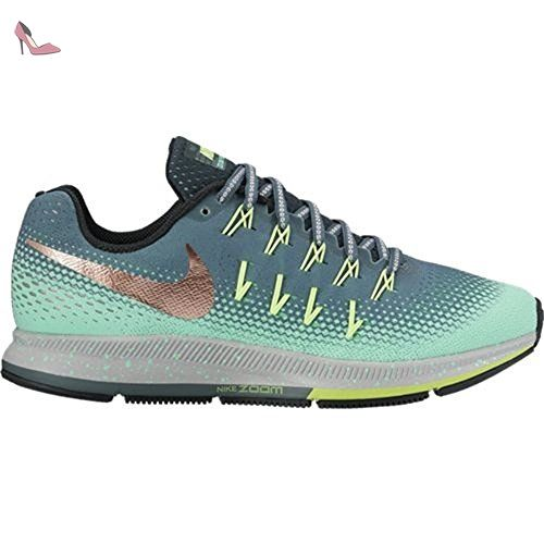 Nike 849567-300 Chaussures de trail running, Femme, Multicolore (Hasta / Mtlc Filet Bronze / Green Glow), 37.5 - Chaussures nike (*Partner-Link)