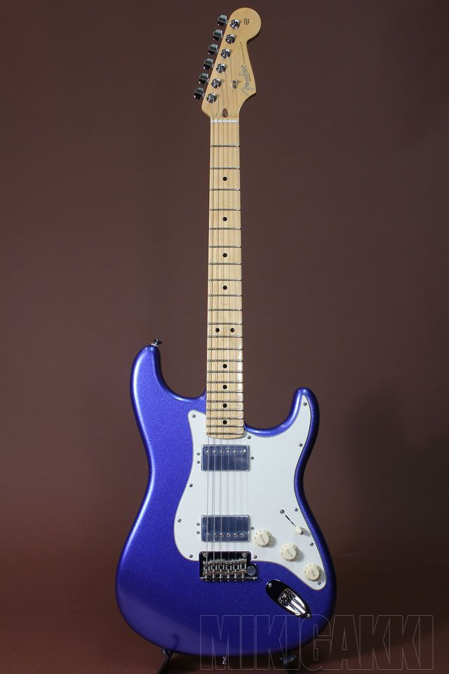 FENDER/USA[フェンダー/ユーエスエー] American Standard Stratocaster HH Ocean Blue Metallic 詳細写真