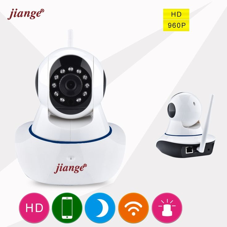 59.99$  Watch now - http://alim07.worldwells.pw/go.php?t=32784405230 - jiange 960P(HD) Day Night Multi-plug WIFI IP CAMERA With Remote Viewing Indoor Baby Care Wireless MINI Security CAMERA