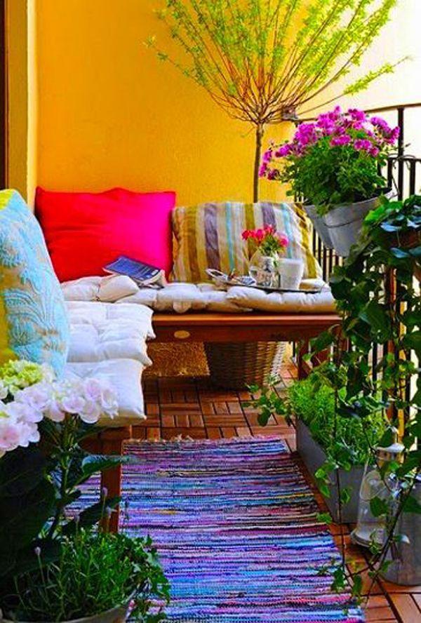 30 Beautifully Boho Chic Balcony Ideas