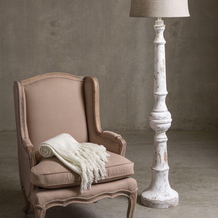 Surya Country Rustic Floor Lamp - Image 1